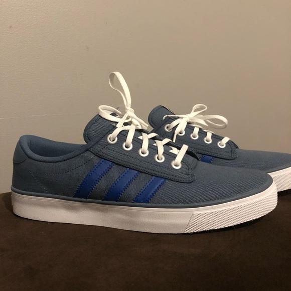 adidas Originals Kiel Canvas Trainers | Sneakers, Shoes
